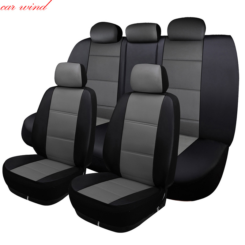 car wind Universal Auto car seat cover For mitsubishi lancer 10 asx pajero 4 2 outlander xl car accessories seat covers styling
