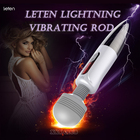 LETEN Lightning Massager vibrator for female masturbation, huge head AV Magic Wand Nipple Clitoris Stimulator sex Toys for Woman
