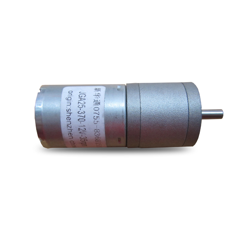 Jga25-370 Dc Gear Motor, Intelligent Robot Trolley Motor 6v12v High Torque Motor, All-metal Gear