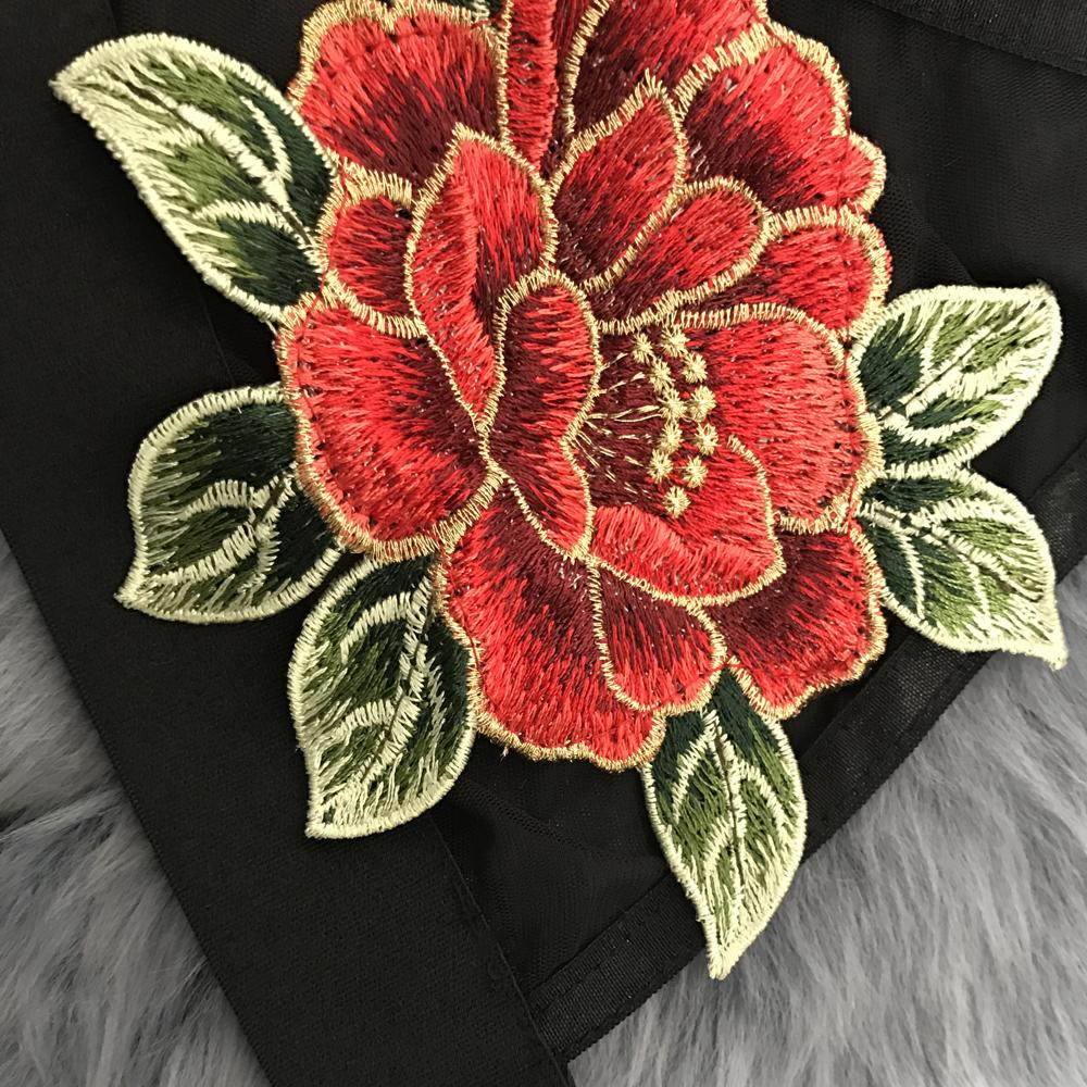 HTB1klsjRXXXXXatXpXXq6xXFXXXr - FREE SHIPPING Sheer Mesh Crop Top Floral Embroidery JKP422