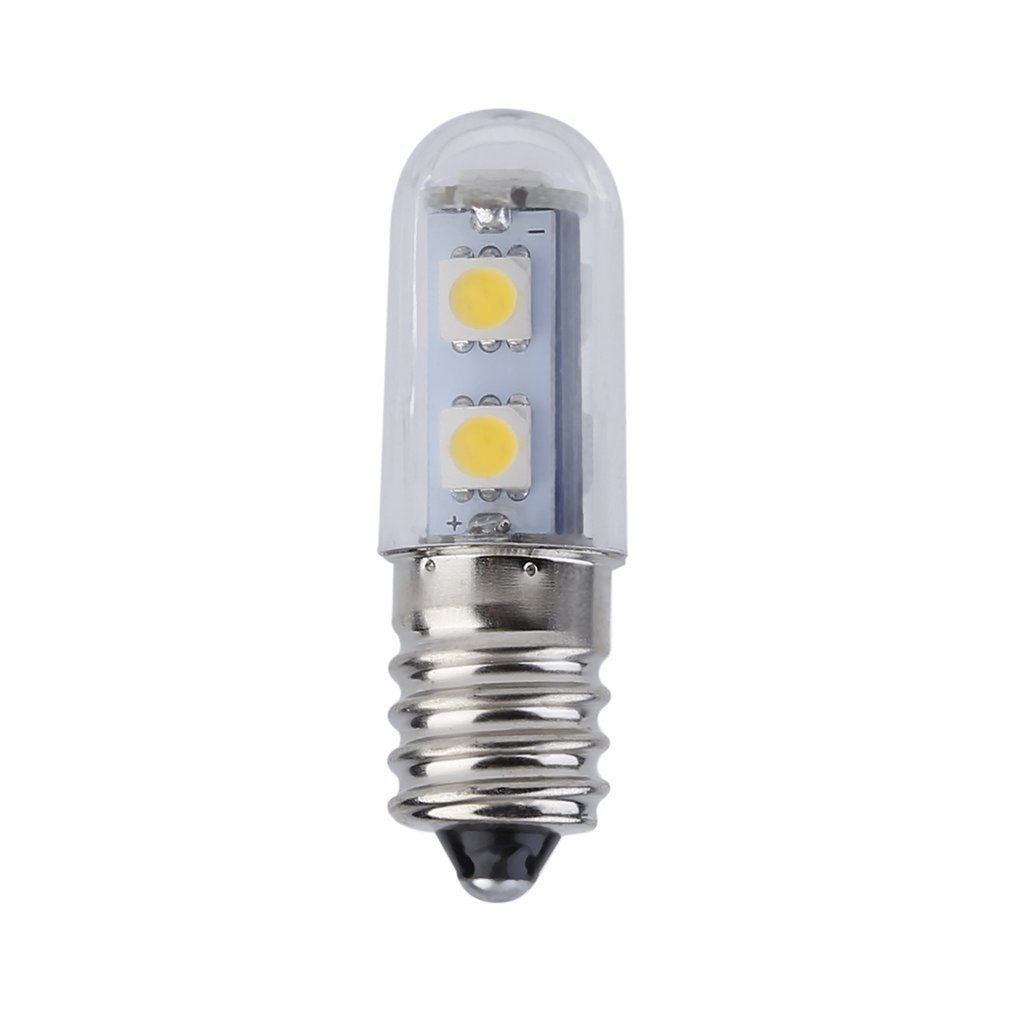 Mini E14 LED Refrigerator Lights SMD5050 0.5W Warm White AC 110/220V Microwave Ovens Range Hood Night Table Sewing Machine Lamp