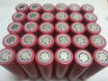 2pcs/lot Original New Sanyo 18650 Li-ion rechargeable battery 2600mAh tablet battery Free Shipping