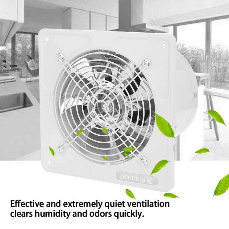 US $33.08 36% OFF|40W 220V Bathroom Kitchen Exhaust Fan Wall Mounted  Ventilation Fan Low Noise Home Garage Air Vent Ventilation-in Exhaust Fans  from ...