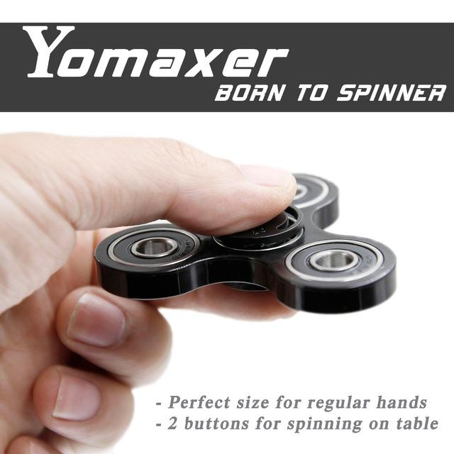 Yomaxer Mới Nhất Thần Tài Spinner Toy Cho Austism ADHD Gốm Mang Nylon Handmade Thần Tài Focus Đồ Chơi Quà Tặng Sáng Tạo