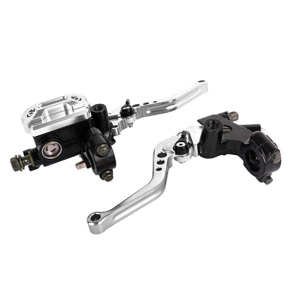 La pompe de frein de moto universelle de 22Mm manipule le Kit de levier de réservoir maître de cylindre hydraulique pour Honda pour Yamaha