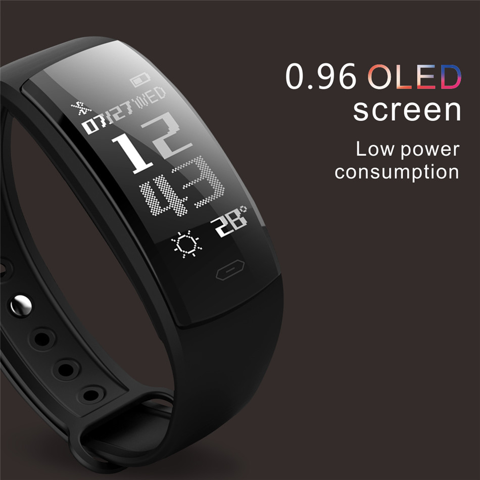 Diggro QS90 Blood Pressure Smart Bracelet Heart Rate Monitor Blood Oxygen Monitor IP67 Fitness Tracker for Andriod IOS VS QS80 5