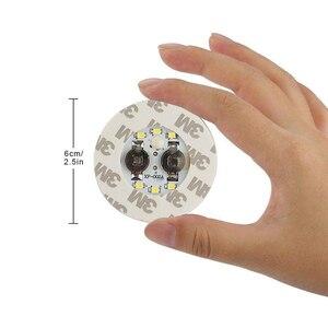 Image 2 - 1 pièces LED très brillante Flash bouteille lumière Glorifier bouteille de vin LED autocollant tasse tapis caboteur pour la décoration de barre de mariage de fête