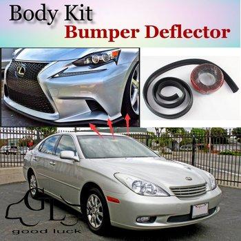 Bumper Lip Deflector Lips For Lexus ES 300 350 240 250 330 300h For TOYOTA Windom Vista Front Spoiler Skirt / Body Kit / Strip front lip for lexus gs350
