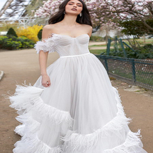 OllyMurs boho ball gown wedding dresses 2019 Romantic