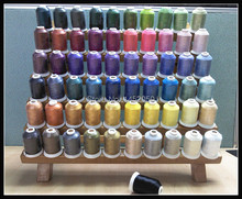 61 Brother Colors/kit Polyester Embroidery Thread 1100Yrds/Spool (1 lot=5 sets) Free Shipping