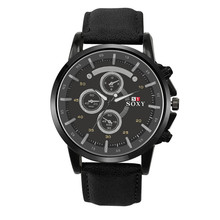 Relogio masculino hombres Relojes de Lujo de Los Hombres Fecha Reloj Del Deporte Analógico de Cuarzo Reloj de Pulsera reloj Militar de Cuero erkek kol saat regalo # A