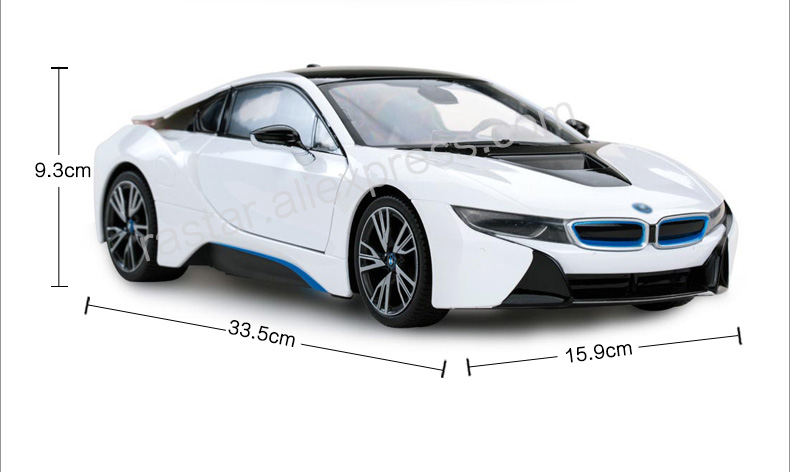 Detail Feedback Questions About Rastar Licensed Rc Car Bmw I8 Scale