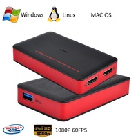 USB 3.0 HD видео игры аудио конвертер Live sreaming Plug and Play HD Вход Выход для Xbox один PS4 бесплатная доставка