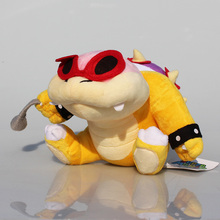 7pcs/lot Super Mario Bros Koopa Plush Toys Dolls Wendy / LARRY / IGGY /Ludwig /Roy / Morton /Lemmy O.Koopa Stuffed Toy