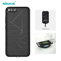 Nillkin Wireless Charging Receiver Case For Xiaomi M6 Power Charging Transmitter Luxury Geometric Lines Back Case