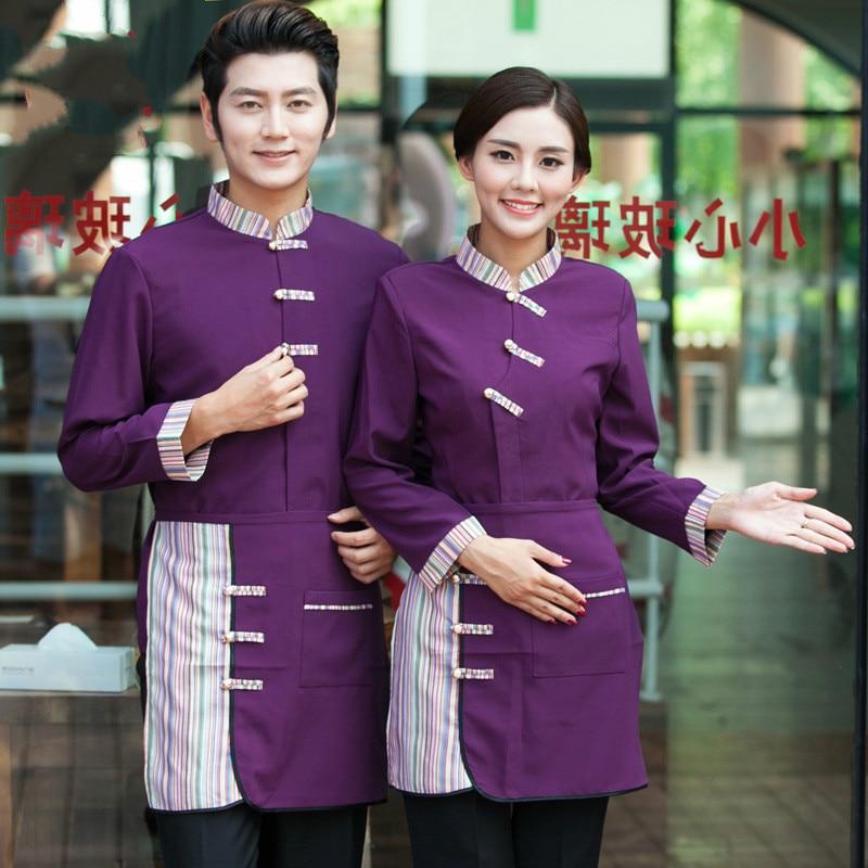Online buy wholesale restaurant waitress uniforms from for Restaurant uniform shirts wholesale