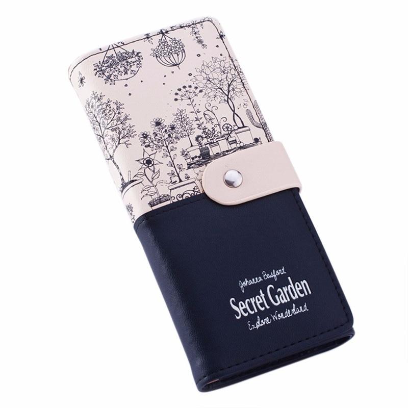 Coin Purses: new simple modern ladys fashionable Coin Purses Women Girl Garden Coin Purse Wallet Card Holders Handbag hot sale Anne