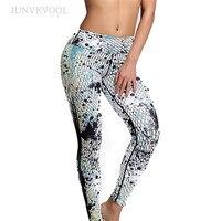 Pequeña pieza novedad digital impreso Leggings mujeres nueva llegada transpirable de secado rápido de trabajo ropa bodycon sexy ropa deportiva