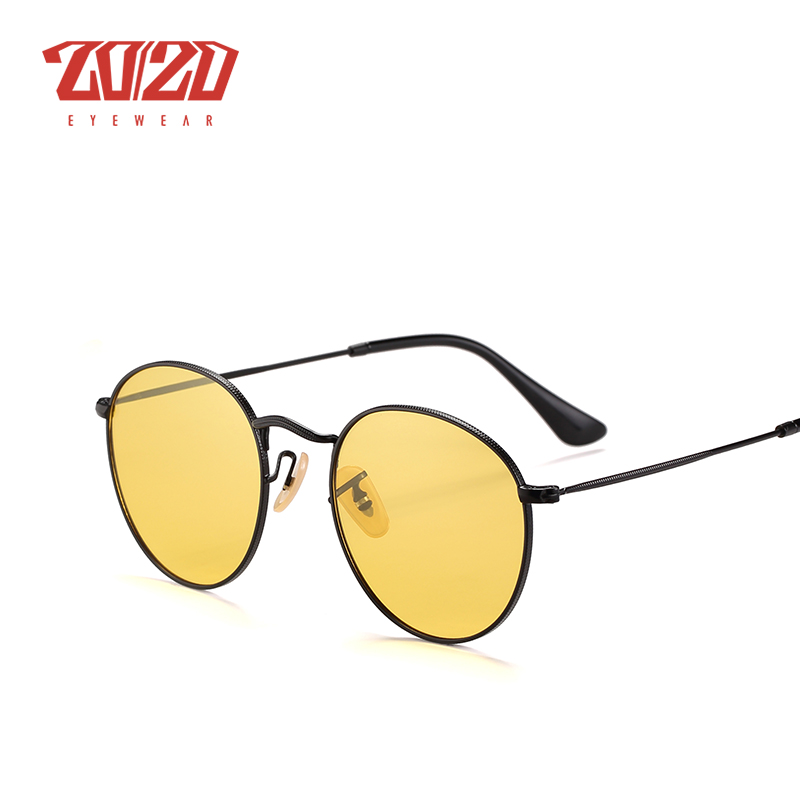 20/20 Brand New Unisex Sunglasses Men Polarized Lens Vintage Round Metal Eyewear Accessories Sun Glasses for Women 17018-1 12
