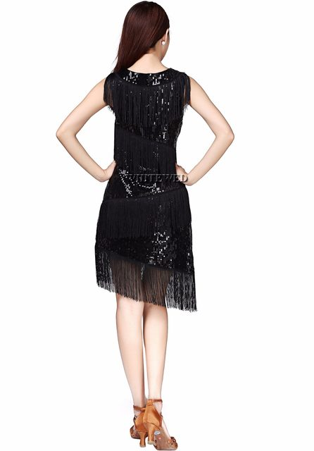 Online Shop Whitewed Fringe Great Gatsby Themed Party Prom Dresses ...