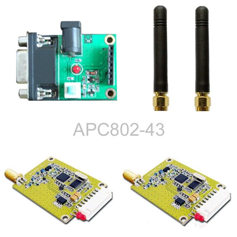 APC802 wireless module / 3KM communication / set board with a serial set 802