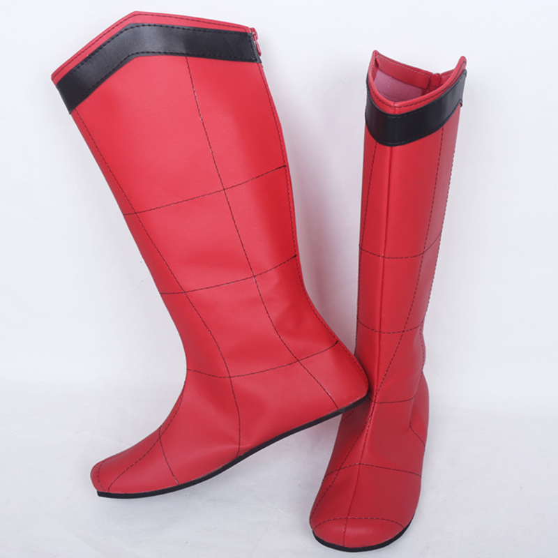 Carnival Boots Cosplay-Shoes Spiderman Women Unisex Flat Costume Halloween-Suit Party