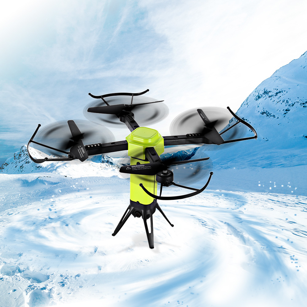 L6059W Foldable RC Quadcopter WiFi FPV 2MP HD Camera Drone 2.4G 4CH Altitude Hold Headless Mode Aircraft 720P RC Helicopter dron