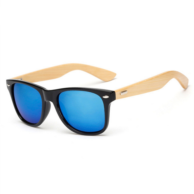 الكلاسيكية خمر الخشب نظارات الرجال - ملابس واكسسوارات