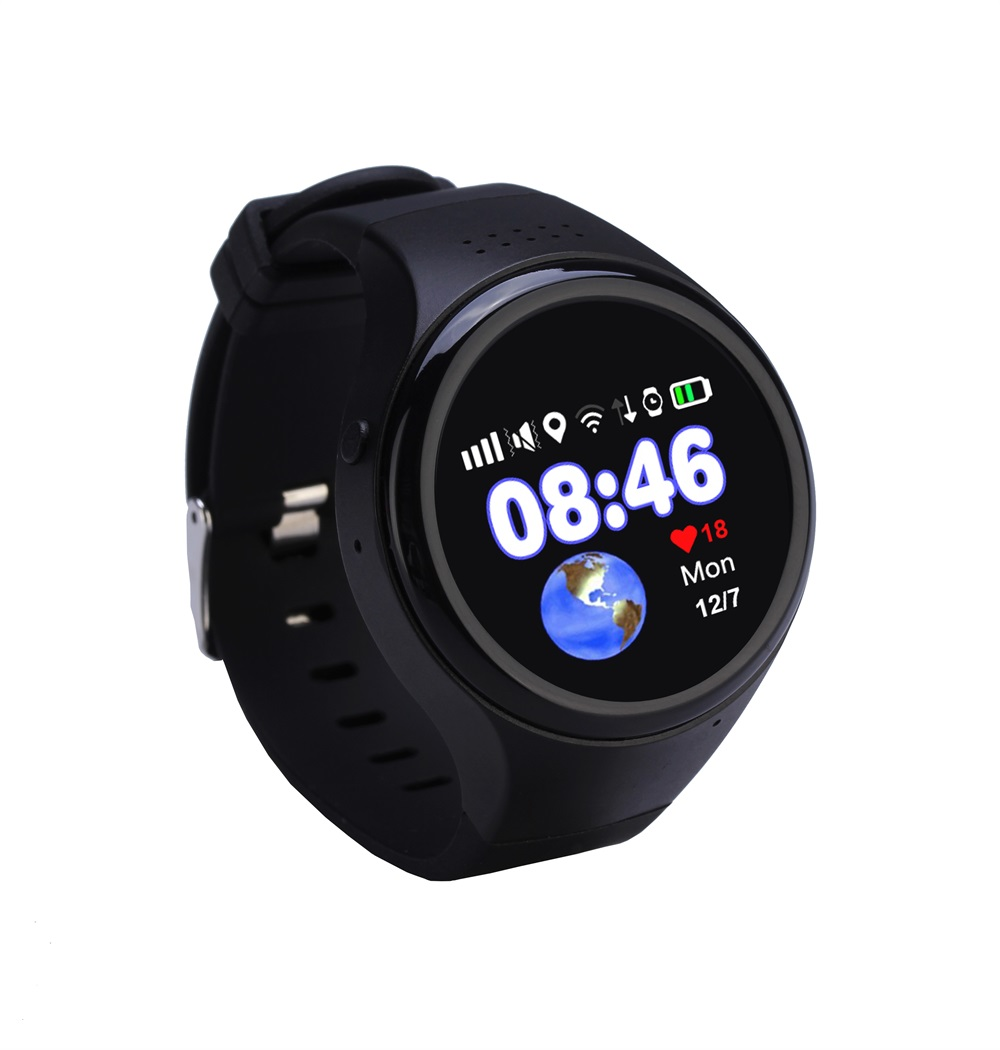 Super GPS WIFI LBS AGPS Tracking Children Old T88 Smart Watch SOS Passometer G-sensor Watch For Ios Android 1.22 Touch Screen 1 2 inch android ios children smart watch phone s866 bluetooth sim gsm wifi lbs sos gps real time positioning tracker for kids
