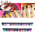 23 Colors Velvet Flocking Powder for Velvet Manicure Nail Art Polish Tips Dropship