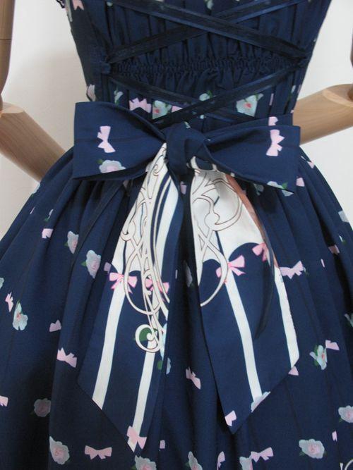 Nieuwe mode lolita vrouwen meisjes jurk kat gedrukt vintage jurken chiffon wijn rood/blauw/roze retro cosplay kostuum prinses jurk - 5