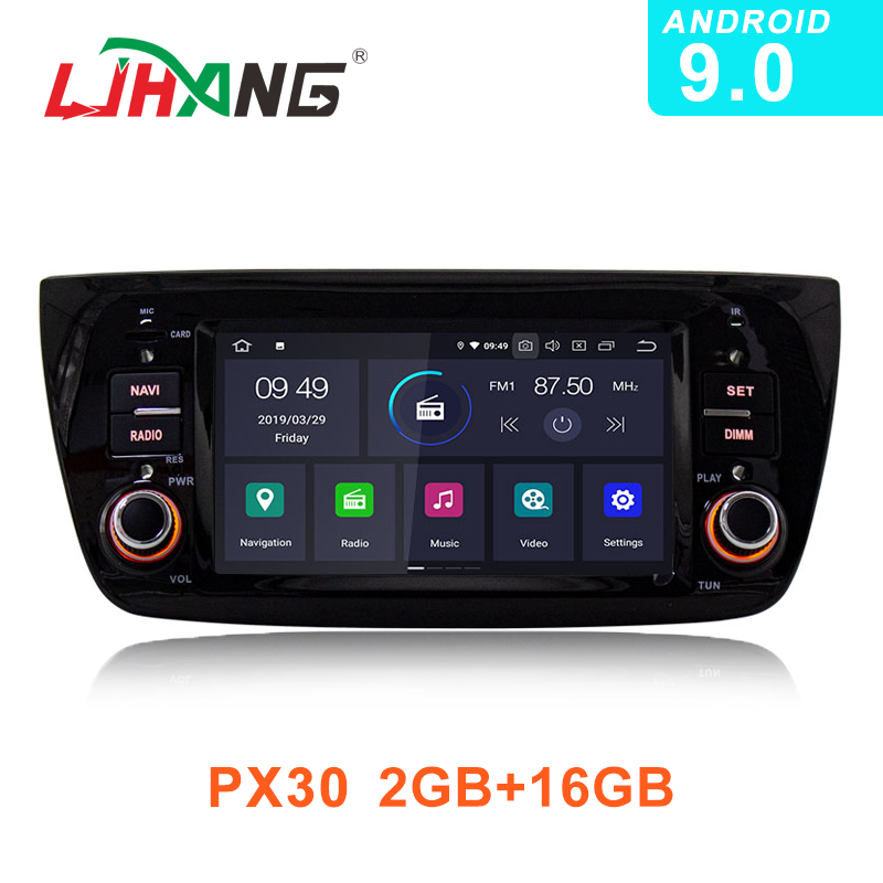 LJHANG 1 Din Android 9 0 Car Radio Multimedia Player For FIAT DOBLO 2010 2016 GPS