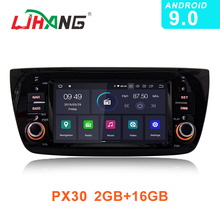 LJHANG 1 Din Android 9.0 Car Radio Multimedia Player For FIAT DOBLO 2010-2016 GPS WIFI Auto Head Unit Video Audio Stereo USB IPS