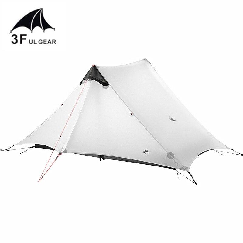 3F UL GEAR 2019 lanshan 2 Tent 2 Person Oudoor Ultralight Camping Tent 3 Season Professional