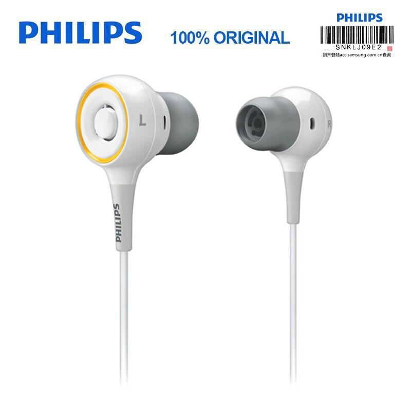 100% Véritable Philips SHE6000 Sport écouteurs Casque In-Ear de Course Coussinets pour xiaomi Samsung Certification Officielle