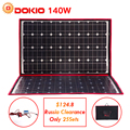 Dokio 100 W 140 W 18 V 12 V Flexible Faltbare Solar Panels Controller 140 Watt Panels Solar Auto/ camping nur Schiff von Russland