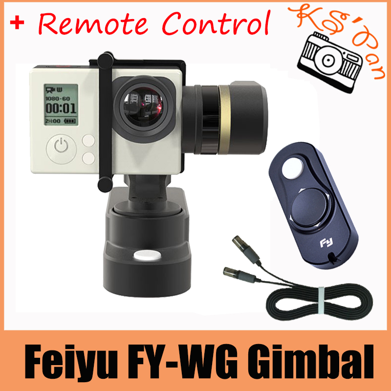 Feiyu TECH FY-WG Wearable Gimbal 3-axis Brushless Gimbal for Gopro 3 3+ 4 LCD Touch BacPac Xiaoyi AEE+Remote Control original feiyu tech wg fy wg fy wg 3 axis wearable gimbal stabilizer for gopro hero 3 3 4 lcd touch bacpac in stock