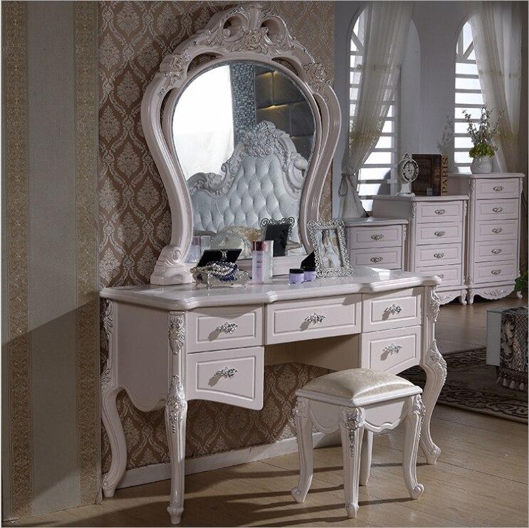haut de gamme en europe style moderne coiffeuse luxe accueil meubles de chambre coucher commodes. Black Bedroom Furniture Sets. Home Design Ideas