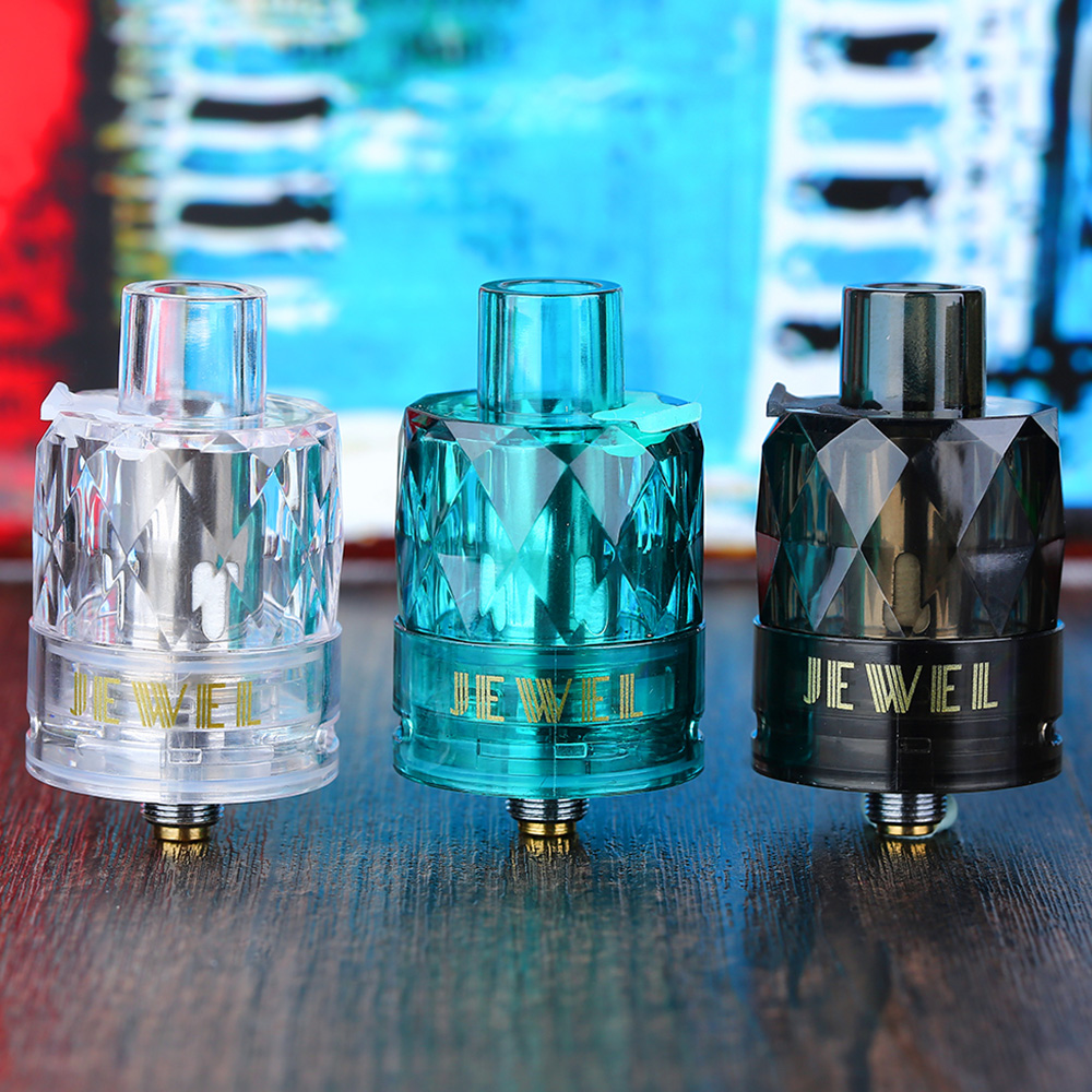 Original 3pcs/pack Augvape Jewel Subohm Tank with 0.15ohm Mesh Coil 50W To 70w Tank Best for Augvape <font><b>VX200</b></font> Mod E Cig image