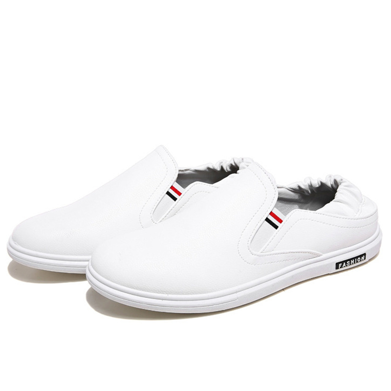 Fashion Men's Loafers shoes men 2017 new Casual Shoes Slip on Flats White mokassins homme Chaussure Summer Man Shoes X051201 pop men outdoor loafers shoes man s slip on flats chaussure brand man soft flat casual shoes footwear zapatillas hombre xk080514