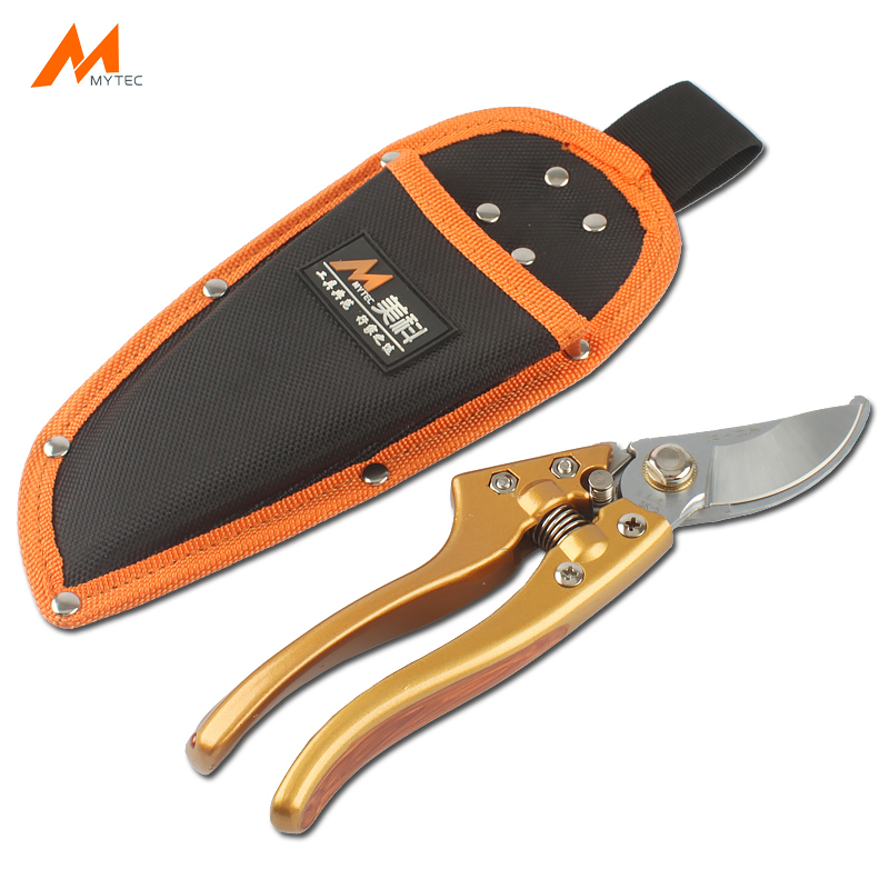 Tool Parts Professional Sale Pruning Outdoor Practical Electrician With Buckle Leather Sheath Tool Gardening Pouch Portable Storage Durable Scissor Bag High Safety