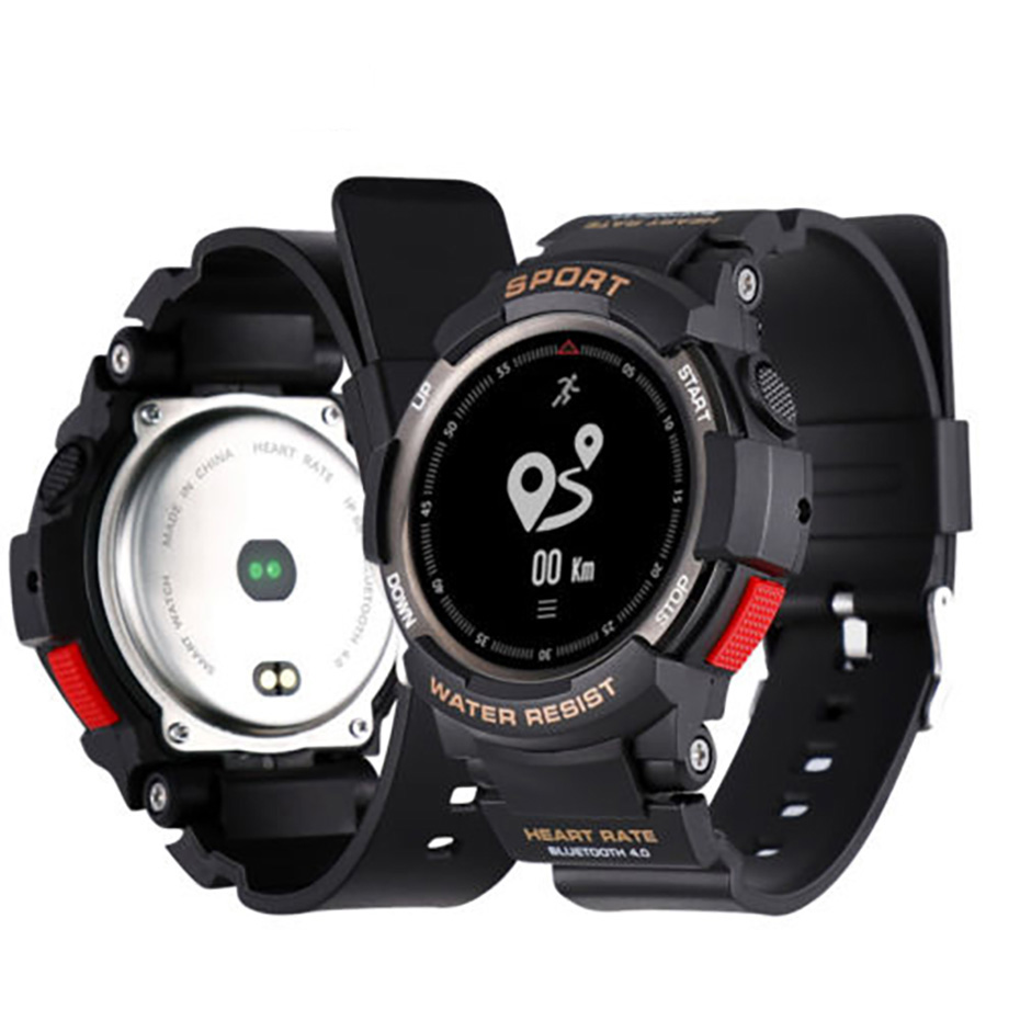 Sport Watch Bluetooth 4.0 With Heart Rate Monitor Smart Watch Men for Android iOS IP68 Waterproof Sport Watch Smart Brace diggro di10 smart sport watch ip68 waterproof pedomete long standby time bluetooth 4 0 smart 1 21 inch watch for ios android