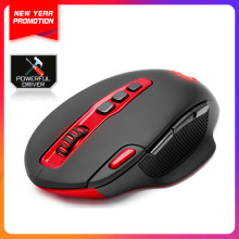 Redragon USB Wireless Gaming Mouse programmable 7200 DPI 10 buttons Laser ergonomic for overwatch gamer Mice laptop PC computer(China)