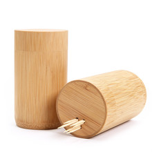Toothpick box toothpick bucket bamboo toothpick chinese style at home container bottle jars mini novelty wholesale freeshipping
