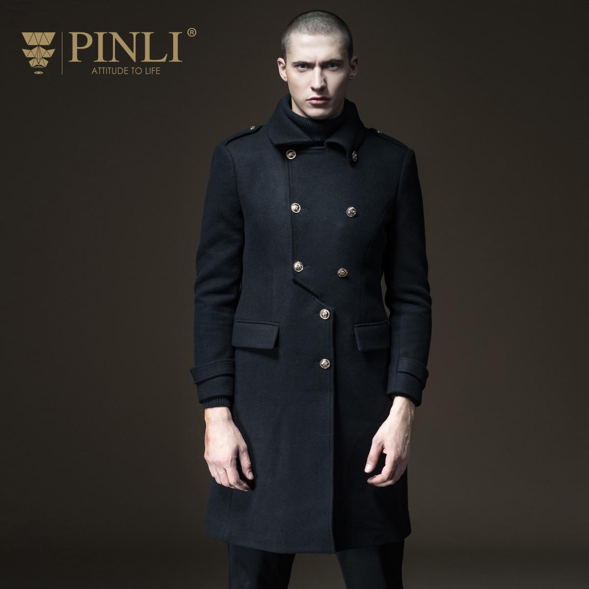 2019 100% Wolle Palto Masculino Pinli Produkt Maß Neue Männer Pflegen Moral In Die Warme Herbst Lange Wolle Mantel B173502113