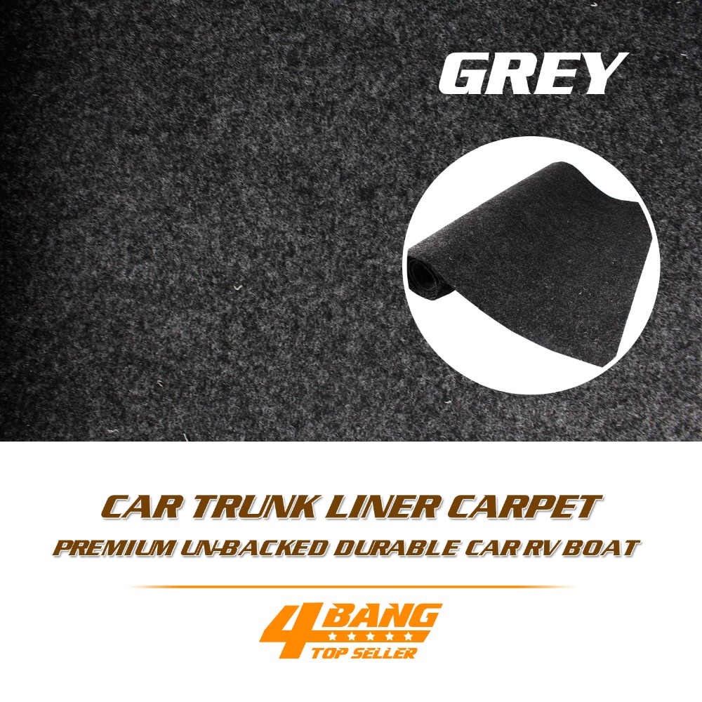 "Car RV Boat Truck 4x4 Pick Up Speaker Box Interior <font><b>Floor</b></font> Underfelt Carpet Heat Sound Proofing Mat Liner 100\""x80\"" 255cmx200cm"