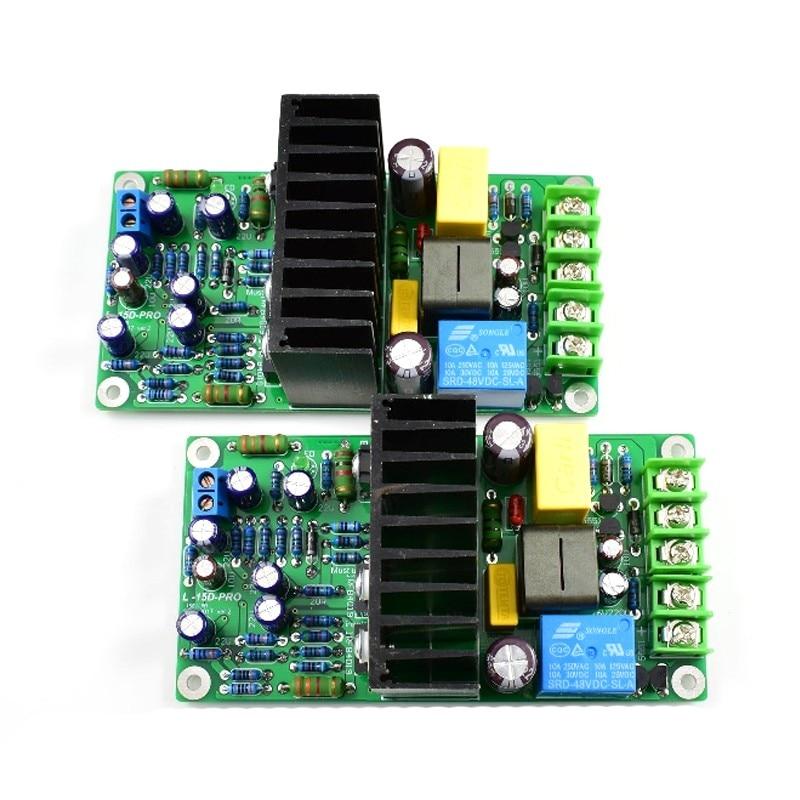 2PCS L15D PRO IRS2092S Audio Amplifier Board 300W Class D 2 channel Digital Amplifier Board 300W