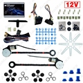 DC12V Auto Universal 2-Doors Electric Power Window Kits with 3pcs/Set Switches and Harness #J-4420