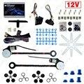 Dc12v Auto Universal 2-Doors janela de energia elétrica Kits com 3 interruptores e Harness # J-4420 pçs/set