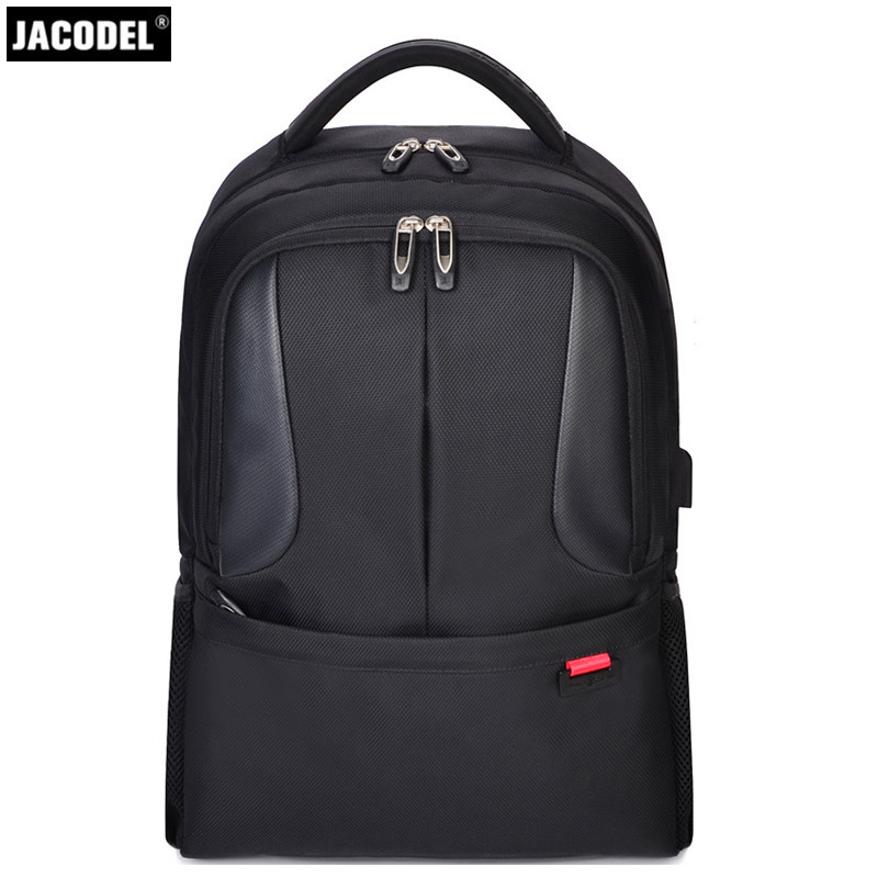 Jacodel Laptop Backpack for 15.6 inch Charging USB Port Computer Backpacks Male Waterproof Man Busines Dayback Women Travel Bags laptop palmrest